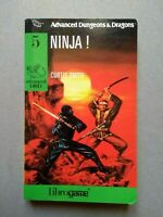 Advanced Dungeons & Dragons 5 NINJA!  librogame  EL