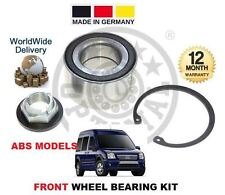 FOR FORD CONNECT TRANSIT TOURNEO + ABS 1.8 2002-> KIT ROULEMENT ROUE AVANT