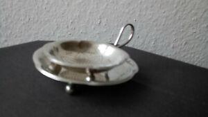 Teebeutelablage Silber/versilbert