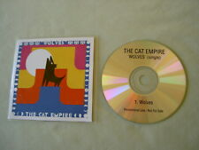 THE CAT EMPIRE Wolves promo CD single