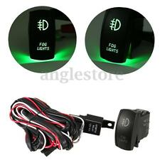 12V 40A 5 Pin LED Fog Light Laser Rocker Switch Wiring Harness Relay Fuse On/Off