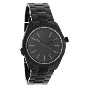 Movado Bold Motion Series Mens Black ION-Plated Quartz Watch Smart Watch 3660004