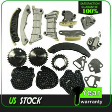 For 3.0 Cadillac Buick Saturn Pontiac Chevrolet 3.6L DOHC Timing Chain Kit 07-15