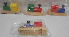 Lot of 12  Oriental Trading Wooden Train Whistles