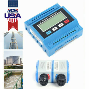 Ultrasonic Liquid Flow Meter TS2 TUF-2000M Digital Flowmeter Data Check Meter