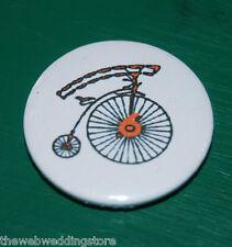 The Prisoner -  number 6 - Patrick McGoohan - Number 6 -   Large Badge 58mm....