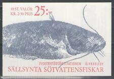 """SUEDE:  Carnet n°C.1631 **, """"le carnet complet""""  (cote 12,50€)"""