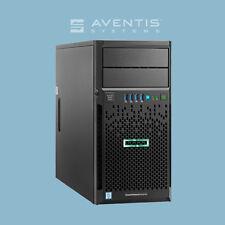 HP ProLiant ML30 Intel Quad-Core E3-1240 3.5GHz 32GB 12TB SATA(4 x 3TB) 3 Yr Wty