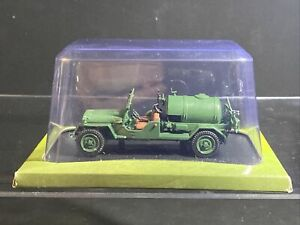 1:43 scale Hachette Tractors of the World - Jeep Agricole - 1962 - VGC Boxed