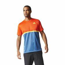 Mens New Adidas Originals Essential Climalite  Crew T-Shirt Top Tennis Top Tee