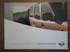 NISSAN TERRANO orig 2003 UK Mkt Sales Brochure - S SE SVE