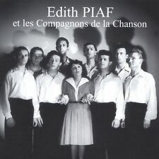FREE US SHIP. on ANY 2 CDs! ~Used,VeryGood CD Piaf, Edith: Et Les Compagnons De