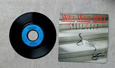 """VINYLE 45T 7"""" SP MUSIQUE / WET WET WET """"ANGEL EYES (HOME AND AWAY)"""" 1987 MERCURY"""