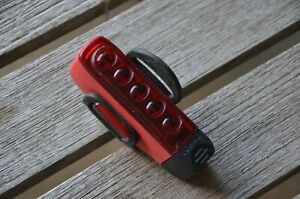 Lezyne road bike multi LED rear tail light USB rechargeable super bright red