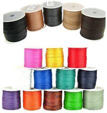 Lederschnur, Lederband (ab 0,30€/m) Rund 1 mm. Lederband. Länge: wählbar