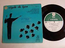 "CIGALE DE LYON dir CHRISTIAN WAGNER - VOL 1 - 7"" mini 33T 17 cm ERATO LDE 1073"