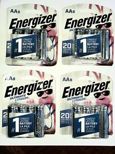 32 Energizer AA Ultimate Lithium