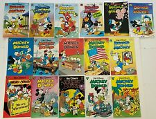 MICKEY AND DONALD #1 to 28 Gladstone Disney Comic Collection 16pc Lot 1988-1995