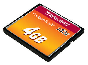 TS4GCF133 Transcend Flash-Speicherkarte 4GB 133x ~D~