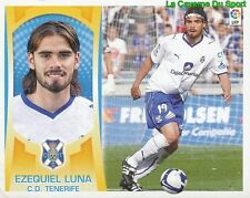 05 EZEQUIEL LUNA ARGENTINA CD.TENERIFE STICKER ESTE LIGA 2010 PANINI