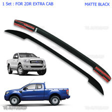 For Mazda Bt-50 Pro Ford Ranger Mk2 Wildtrak 12 - 17 2Dr Black ABS Roof Rack Bar