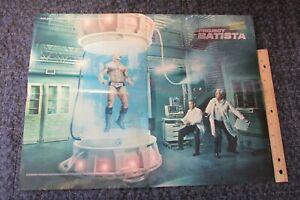 Batista WWE Wrestling Poster 16x21 Movie Project Doctor Wrestler Raw Smackdown