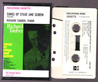 RICHARD TAUBER SONGS OF STAGE AND SCREEN Vol 1 - Cassette Tape Vintage