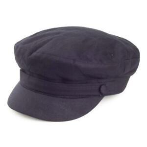 Failsworth Hats Irish Linen Mariner Cap - Navy