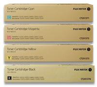 Fuji Xerox Genuine C2270-C5570 Toner CMYK (CT201370 CT201371 CT201372 CT201373)