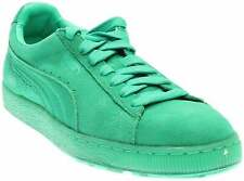 Puma Suede Classic Ice Mix Lace Up  Mens  Sneakers Shoes Casual   - Green - Size