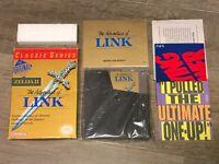 Zelda II 2 Adventure of Link Grey Nintendo Nes Complete CIB Excellent Authentic