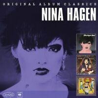 NINA HAGEN - ORIGINAL ALBUM CLASSICS 3 CD NEW