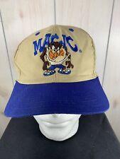 Vintage Orlando Magic Snapback Hat VTG 94 Taz Looney Tunes NBA Hat