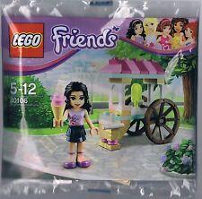 Lego Friends Eisstand mit Emma Polybag Emma´s Ice Cream Stand 30106