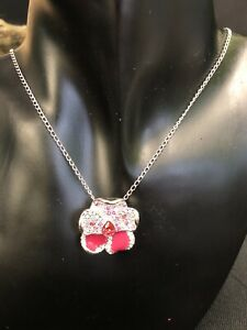 Genuine Vintage Swarovski Crystal Pendant/Necklace