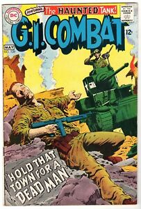 G.I. Combat #129 Featuring The Haunted Tank, Very Fine Condition