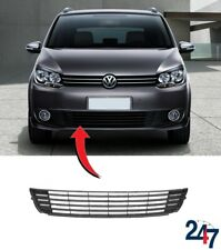 NEW VOLKSWAGEN TOURAN 2010 - 2015 FRONT BUMPER LOWER CENTER GRILL WITHOUT CHROME