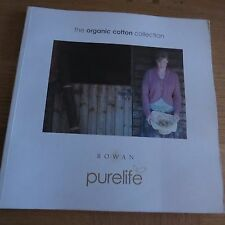 Rowan purelife coton organique collection - 18 designs pattern book