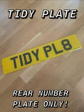 Rear Standard Number Plate 100% MOT Compliant - Caravan - Car - VAN - Trailer ✅