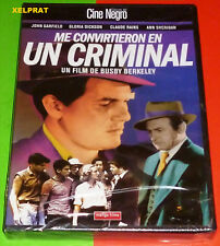 ME CONVIRTIERON EN UN CRIMINAL / They Made Me a Criminal DVD R2 English Español