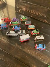 Lot Of 14Thomas The Train and Friends Diecast Take And Play Trains