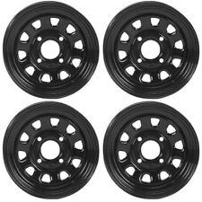 4 ATV/UTV Wheels Set 12in ITP Delta Steel Black 4/137 4+3/2+5 PRA