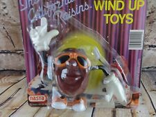 Vintage California Raisins Wind up Toy  Sun Glasses Nasta Open Package