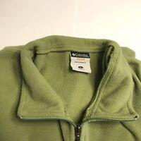 Columbia XCO Women's Sleeveless Full Zip Vest, XL, Green, 100% Polyester
