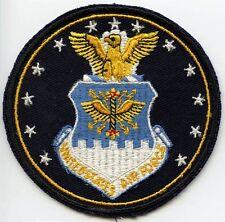 Korean War Era USAF HQ Jacket Patch Embroidered on Twill