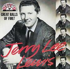 JERRY LEE LEWIS : GREAT BALLS OF FIRE / CD