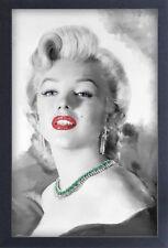 MARILYN MONROE DIAMONDS ARE FOREVER 13x19 FRAMED GELCOAT POSTER ICONIC MODEL NEW