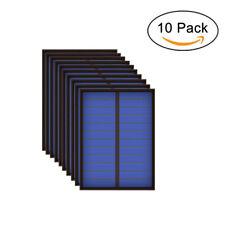 5PCS 6V 100mA 0.6Watt 0.5W Solar Panel Standard Epoxy Polycrystalline Silicon