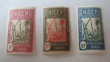 NIGER TERRITORY 1926 MINT STAMPS