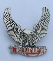 LARGE TRIUMPH EAGLE Motorcycle Pin Badge